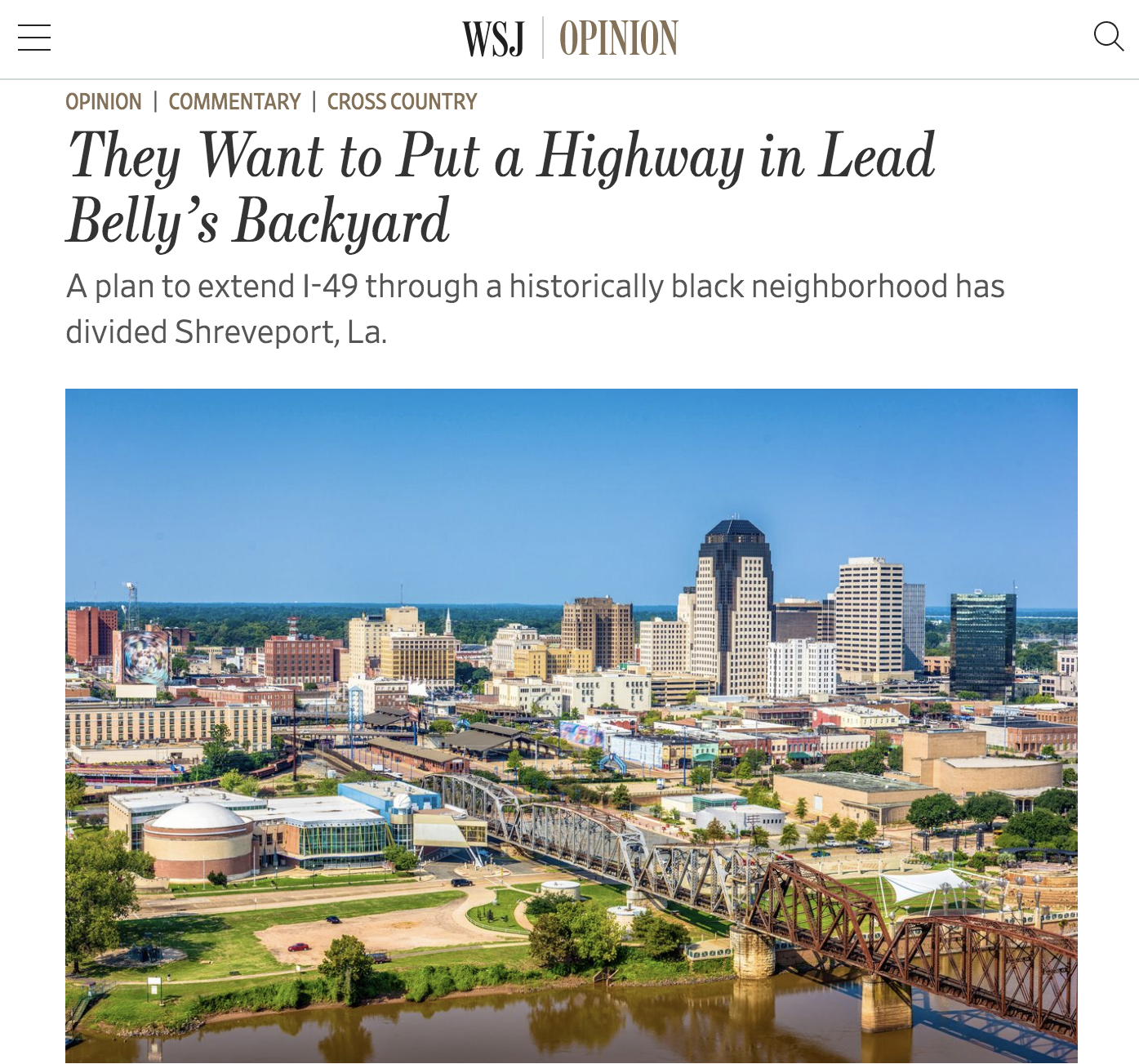 """Featured image for """"They Want to Put a Highway in Lead Belly's Backyard"""""""